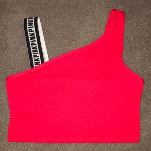 NWT - VS Pink Crop Top